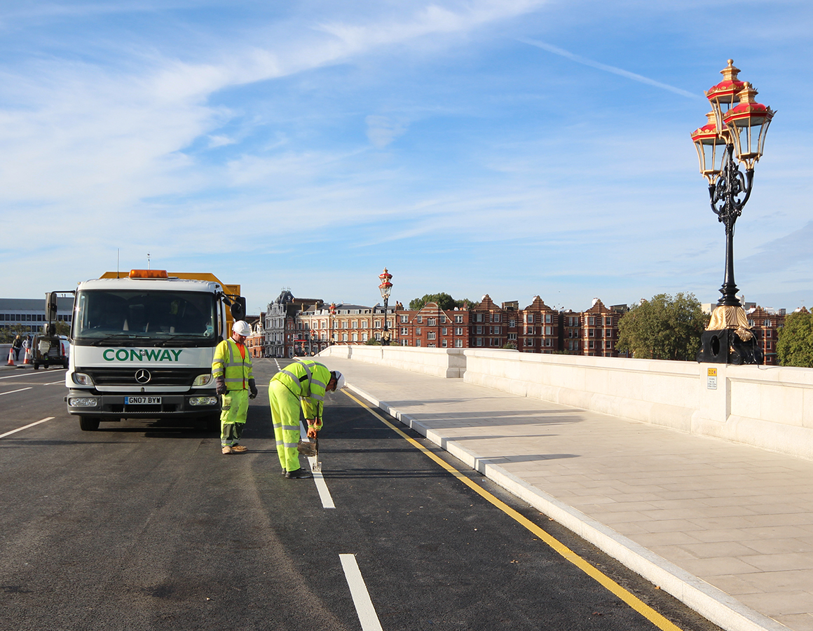 FM Conway have been providing road repairs and surfacing for 57