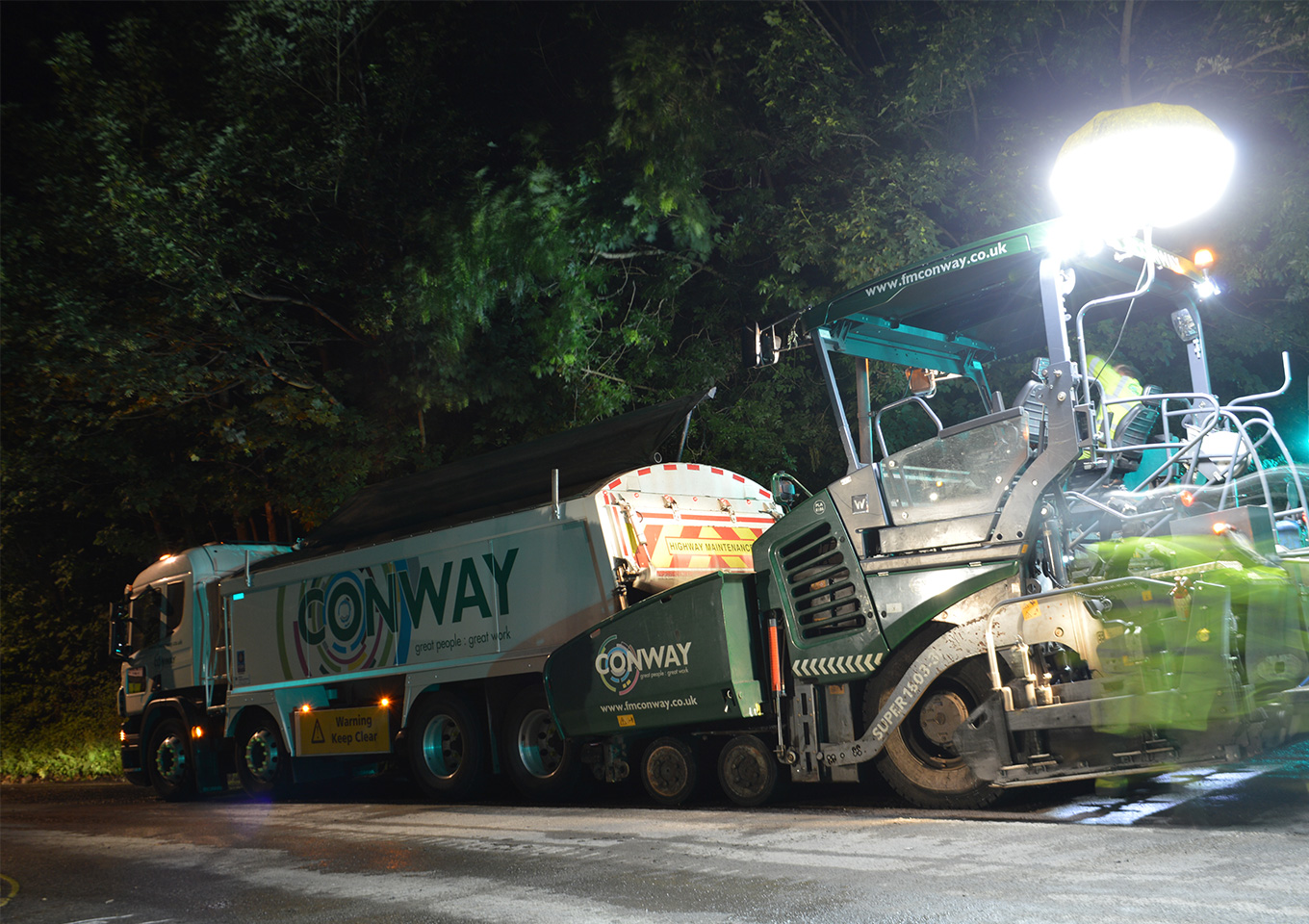 FM Conway secures £56m contract for East Sussex highways work thumbnail