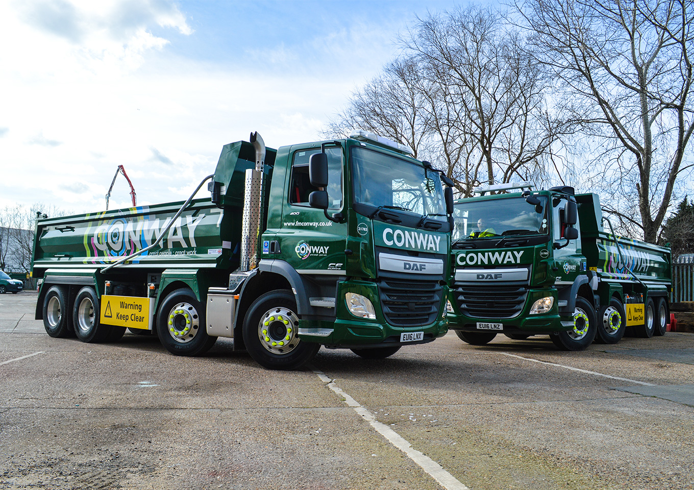 FM Conway leads on air quality standards with £7m fleet investment thumbnail