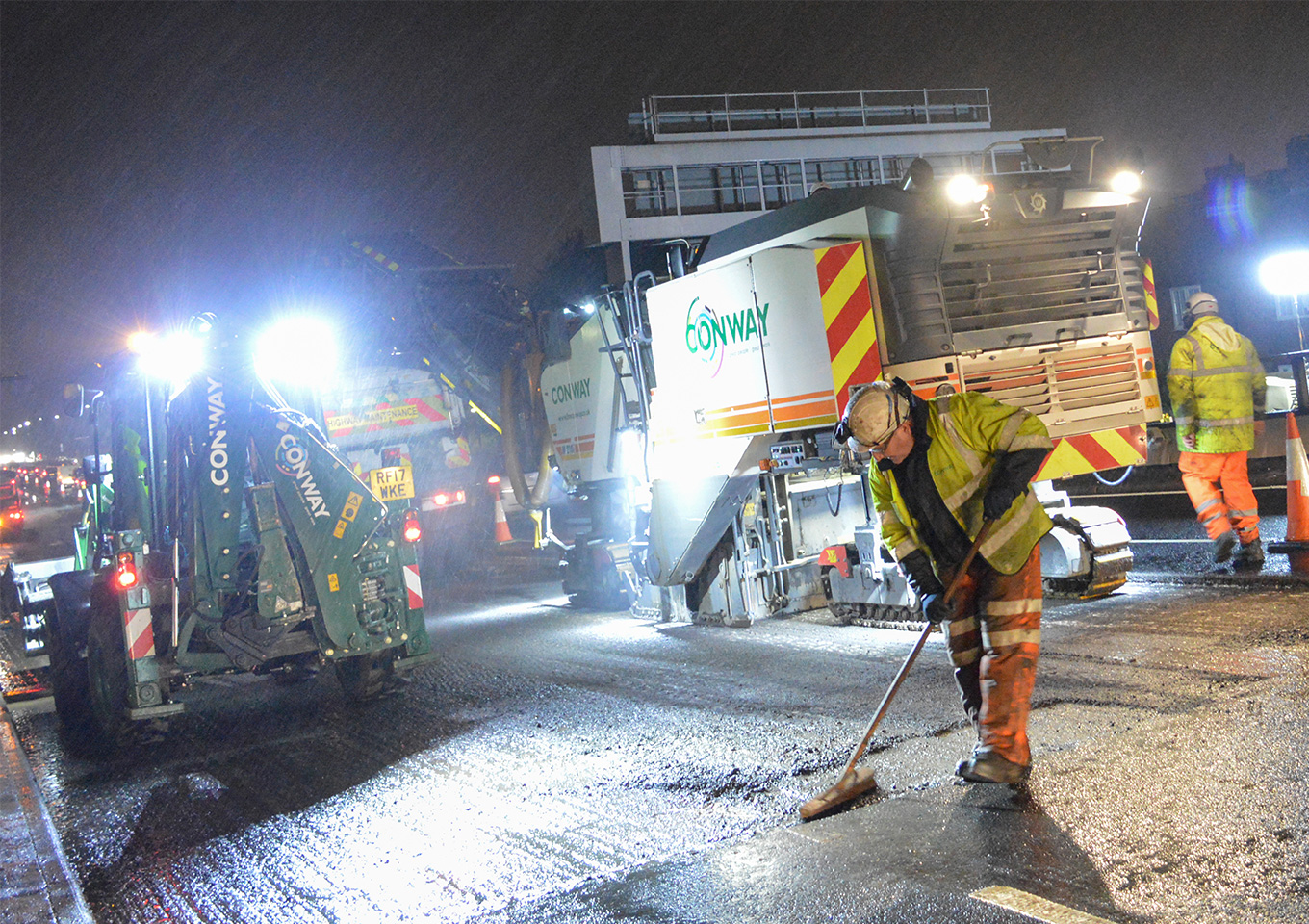 FM Conway and TfL complete pioneering highways project thumbnail