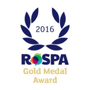 Gold Medal Award – Health & Safety 2016 logo