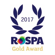 RoSPA Gold Medal Award – Health and Safety 2017 logo